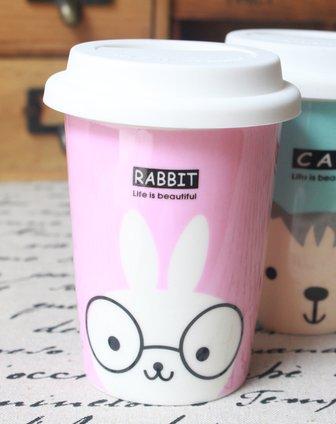 卡通动物水杯(兔子)
