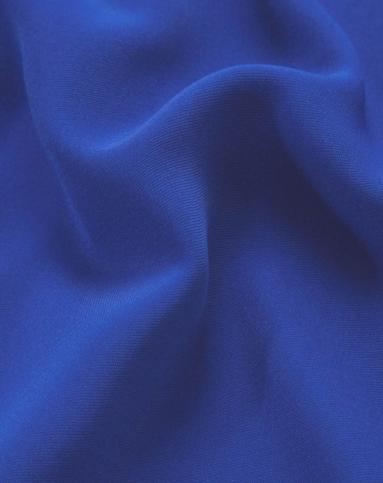 宝蓝立体式连衣裙图片