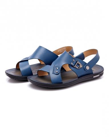 蓝时尚休闲沙滩鞋
