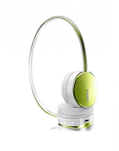 雷柏s500绿 蓝牙立体声麦克风耳机