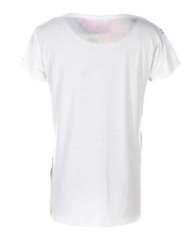 女款轻奢高端t恤图案印花