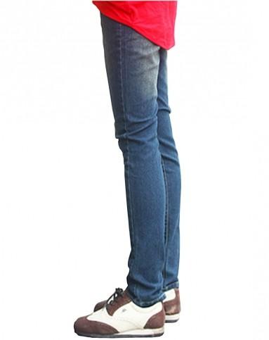 甜宝贝孕妇牛仔裤蓝色