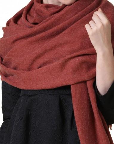 时尚休闲羊毛围巾披肩