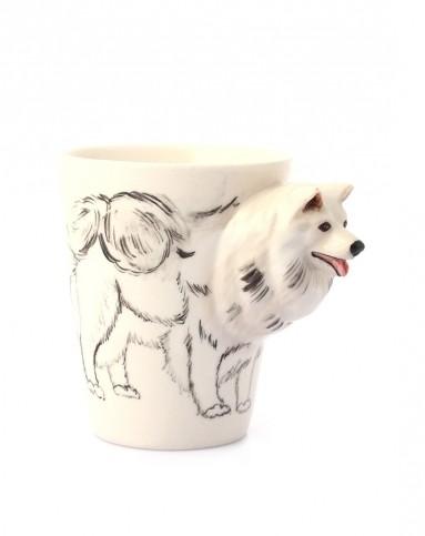 (摩萨耶)纯手绘陶瓷动物杯