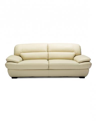 现代经典u型真皮沙发 双人位