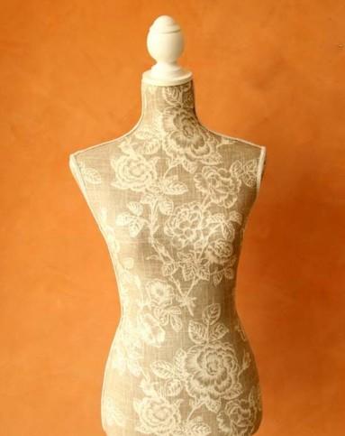 欧式优雅木制模特试衣架装饰品