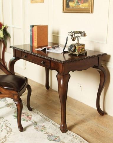 美式实木书桌 f96405